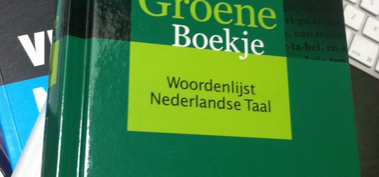 Het Groene Boekje (Woordenlijst Nederlandse Taal)