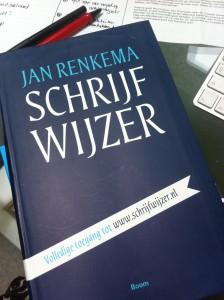 de Schrijfwijzer van Jan Renkema