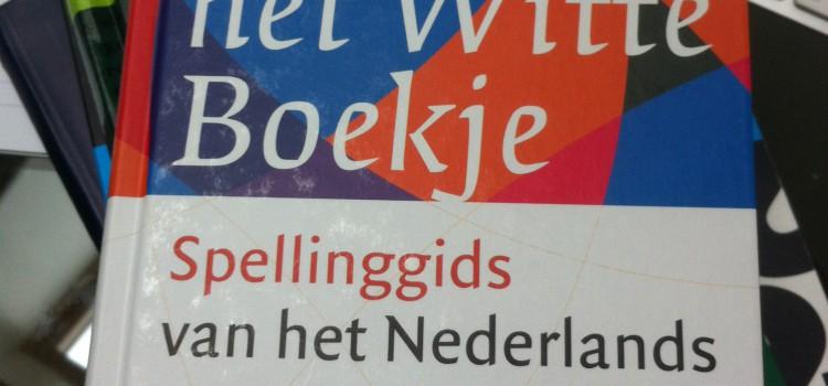 Het Witte Boekje (Spellingwijzer Onze Taal)