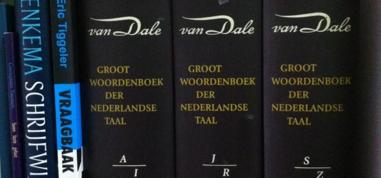 De Dikke van Dale (Groot Woordenboek der Nederlandse Taal)